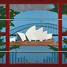Sydney Harbour by Eldon Ward