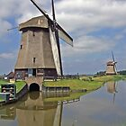 Dutch Windmills by Intrepix