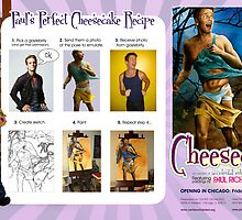 CHEESECAKE Pin-Up Recipe  by Paul Richmond