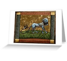 Manticore Greeting Card