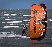 Windsurfer at Brighton by John Quixley