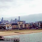 Port Melbourne from the Ferry by Eleanor Wylie
