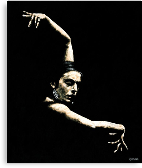 Flamenco Arms by Richard Young