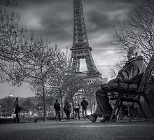 Sat on the bench by Laurent Hunziker