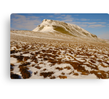 Pen-y-Ghent, Horton-in-Ribblesdale, Ribblesdale, Yorkshire Dales Canvas Print