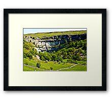 Malham Cove - Yorks Dales #1 Framed Print