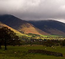 Ray of sunshine, Blencathra by Lorraine Parramore