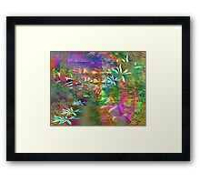 Colors & Flowers. Framed Print