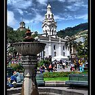 Historic Center, Quito, Ecuador by Bernai Velarde