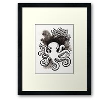Drawing Day ~ Fear Framed Print