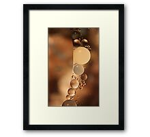 A Chocolate Moment Framed Print