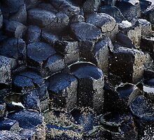 Basalt formations - Fingal Head by John Quixley