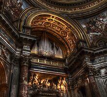 L'organo della chiesa di S. Agnese in Agone, Roma by Andrea Rapisarda