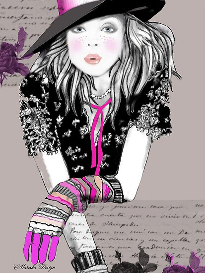 """Drawing Day"" Image / Illustration by Mariska"