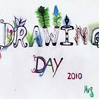 Drawing Day  2010 - In The Garden by Michelle Scott