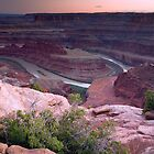 Sunset at Dead Horse Point State Park by cavaroc