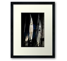 Sail Equation..  Framed Print