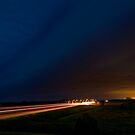 Nebraska Shelf Cloud over Freeway by MattGranz