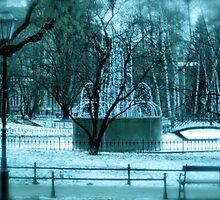 Fountain in Eastern Europe by VenturAShot