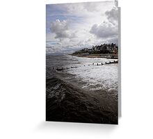Blue Skies Leave Greeting Card