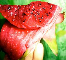 BITING A PITAYA! by D. D.AMO