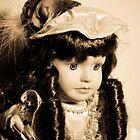 Doll with dark curls by mltrue