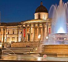 Trafalgar Square. London. England by vadim19