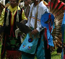 Male Pow Wow Dancer by Alyce Taylor