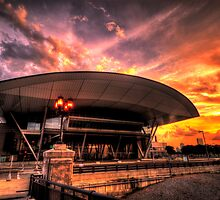 Boston Convention and Exhibition Center  by LudaNayvelt