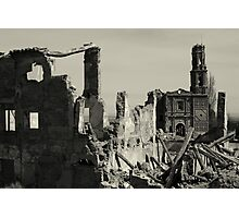 Ruins of Belchite Photographic Print