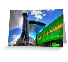 John Deere Tractor Greeting Card