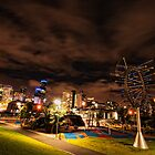 Melbourne Skyline by photograham