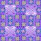 Mauve Crosses by KazM
