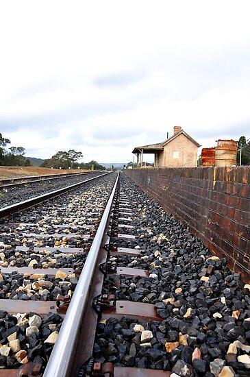 Ben Bullen Railway Station NSW Australia by Bev Woodman