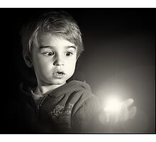 The light. Photographic Print