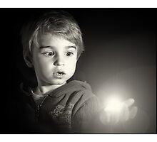 The light. Photographic Print