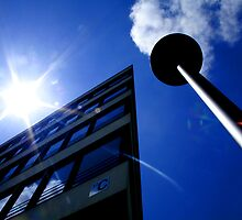 Sun Building Lamp Architecture Architectural Prints on Sale by Toby Davis