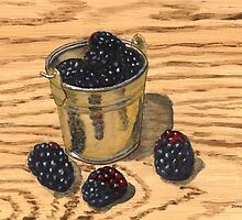 (Mini) Jugful of Blackberries by bernzweig