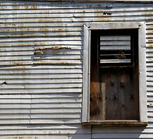 Rusted Facade by Lynda Lehmann