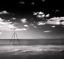 A Call to Turbines BW by Andy Freer