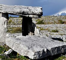 Dolmen, The Burren, Clare, Ireland by Pat Herlihy