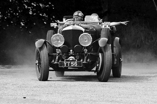 1927 Bentley Speed Six Tourer by Mark Wilson