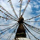 Stupa in Central Kathmandu by Maggie Woods