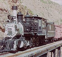 Denver & Rio Grande Steam Locomotive - Cimarron, Colorado by Adrian Paul