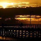 Sunset II - Moonta Bay by Elizabeth Rose Rawlings
