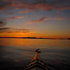 Sunset in the Sound by Shanthi Pathi