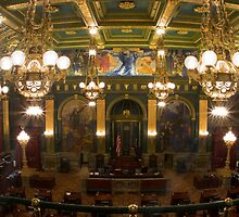 Pennsylvania State Senate Chamber by Mark Van Scyoc