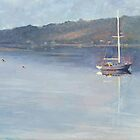 Blackwall Anchorage - Tamar Valley Tasmania by Pieter  Zaadstra