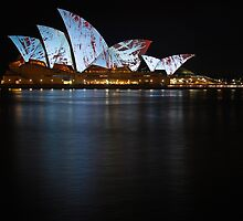 Sydney Opera House at Night by Graeme Skinns