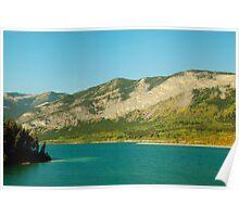 Barrier Lake Poster